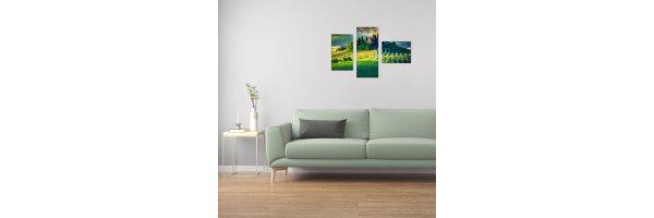 Mehrteilige Acryl Bilder 100x70 cm