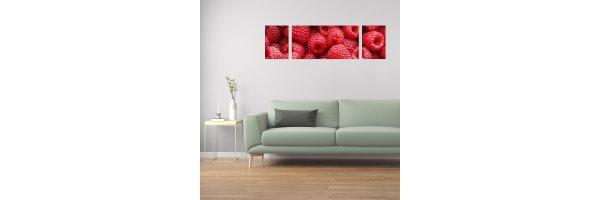 Mehrteilige Acryl Bilder 170x50 cm