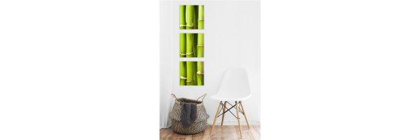Mehrteilige Acryl Bilder 30x90 cm - Vertikal