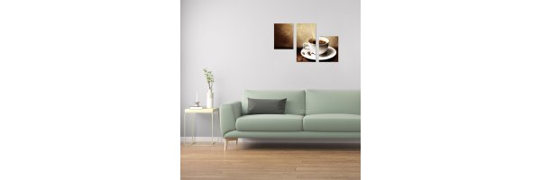Mehrteilige Acryl Bilder 90x60 cm
