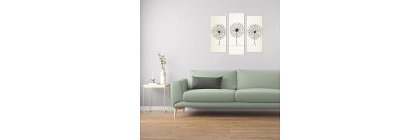 Mehrteilige Acryl Bilder 90x80 cm