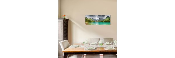 Glasbilder 125x50 cm