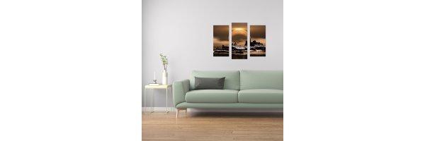 Mehrteilige Acryl Bilder 90x70_2 cm