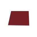 Herdabdeckplatten 60x52 / 2x30x52 Ceranfeld Dunkel Rot...