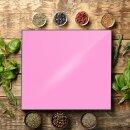 Herdabdeckplatten 60x52 / 2x30x52 Ceranfeld Pink Spritzschutz Glas Herdschutz Deko Universal