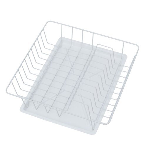 Abtropfgestell 35x35 Quadratisch Weiß Abtropfgitter Abtropfschale Küche Teller