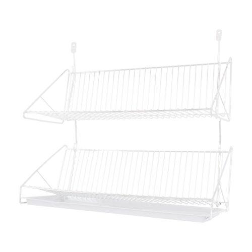 Abtropfgestell 2 Etagen 56x25 Aufhängen Abtropfgitter Abtropfschale Küche Teller