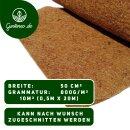 Kokosfasermatte Winterschutzmatte Pflanzenschutz Kokosmatte 800g/m2 (0,5m x 20m)