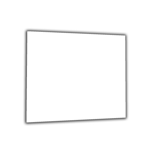 Küchenrückwand 65x60 Weiß Glas 65x60 Spritzschutz Herd Spüle Fliesenschutz Küche