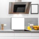 Küchenrückwand 65x60 Weiß Glas 65x60...