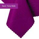 Tischdecke Abwaschbares Tischtuch Schmutzabweisend Tischdeko 70x70cm Violett