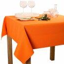 Tischdecke Abwaschbares Tischtuch Schmutzabweisend Wasserabweisend 70x70 Orange