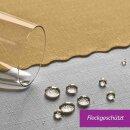 Tischdecke Abwaschbares Tischtuch Schmutzabweisend Wasserabweisend 80x80cm Gold