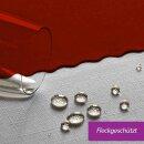 Tischdecke Abwaschbares Tischtuch Schmutzabweisend Tischdeko 100x100 Terracotta