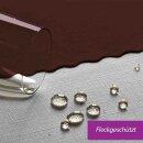 Tischdecke Abwaschbares Tischtuch Schmutzabweisend Tischdeko 100x100cm Braun