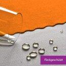 Tischdecke Abwaschbares Tischtuch Schmutzabweisend Tischdeko 100x140cm Orange