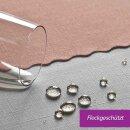 Tischdecke Abwaschbares Tischtuch Schmutzabweisend Tischdeko 110x140cm Rosa