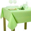 Tischdecke Abwaschbares Tischtuch Schmutzabweisend Wasserabweisend 110x160 Grün