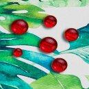 Tischdecke Abwaschbares Tischtuch Leinenoptik Schmutzabweisend 100x140cm Grün