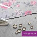 Tischdecke Abwaschbares Tischtuch Leinenoptik Schmutzabweisend 120x200cm Rosa