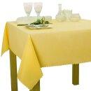 Tischdecke Abwaschbares Tischtuch Schmutzabweisend Wasserabweisend 120x200 Gelb