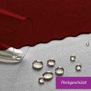 Tischdecke Abwaschbares Tischtuch Schmutzabweisend Tischdeko 130x160cm Dunkelrot