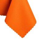Tischdecke Abwaschbares Tischtuch Schmutzabweisend Tischdeko 130x170cm Orange
