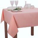 Tischdecke Abwaschbares Tischtuch Schmutzabweisend Wasserabweisend 140x180 Pink