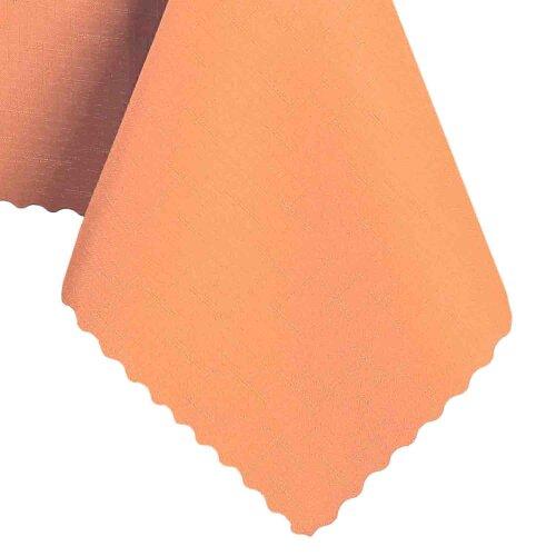 Tischdecke Abwaschbares Tischtuch Schmutzabweisend Wasserabweisend 140cm Orange