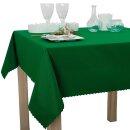 Tischdecke Abwaschbares Tischtuch Schmutzabweisend Wasserabweisend 160cm Grün