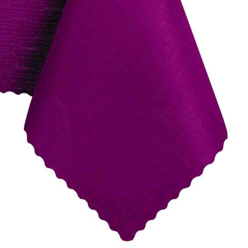 Tischdecke Abwaschbares Tischtuch Schmutzabweisend Tischdeko 160cm Lila Violett