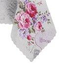 Tischdecke Abwaschbares Tischtuch Leinenoptik Schmutzabweisend 140x200cm Rosa