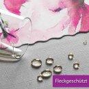 Tischdecke Abwaschbares Tischtuch Leinenoptik Schmutzabweisend 150x300cm Rosa