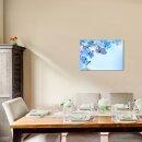 Schmetterling 70x50cm Glasbilder Glasbild Echtglas...