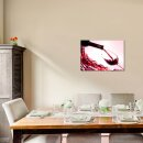 Wein 70x50cm Glasbilder Glasbild Echtglas Wandbild Deko