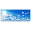 Wolken Echtglas Glasbilder Glasbild Echtglas Wandbild...