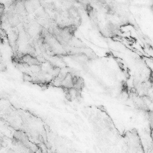 Gsmarkt Glasbild Glasplatte für IKEA Lack Tisch 55x55 Marmor Textur Grau