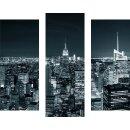 Wandbilder Glas 3 Teilig Acryl Acrylglasbilder New York...